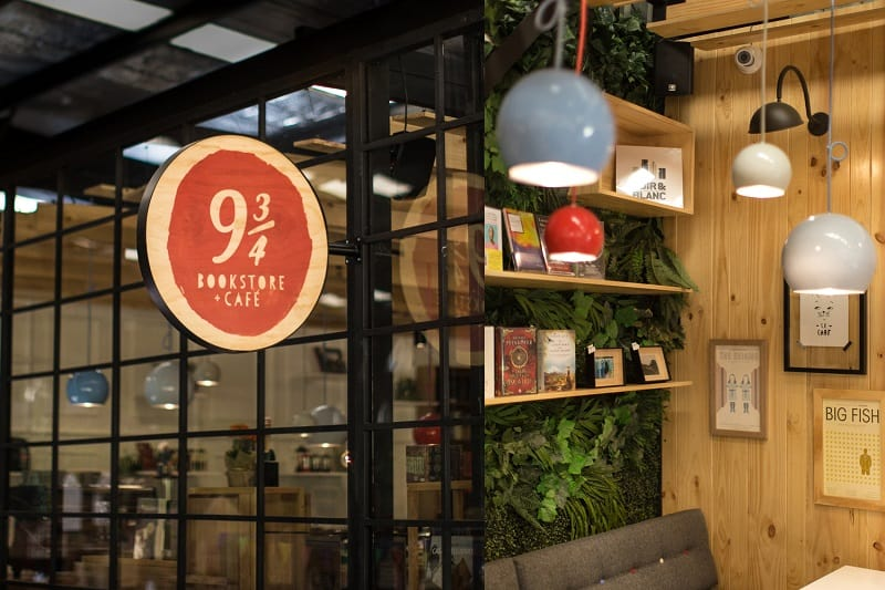 Bookstore-café with a warm appealing interior1