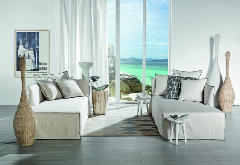Elegant contemporary furniture collection by Gervasoni4