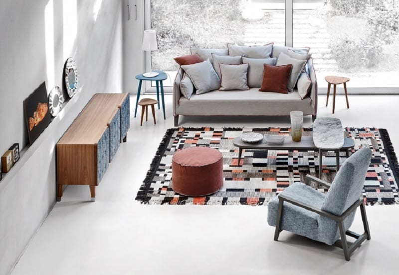 Elegant contemporary furniture collection by Gervasoni7
