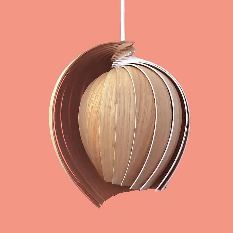 Sustainable lamp with eco design