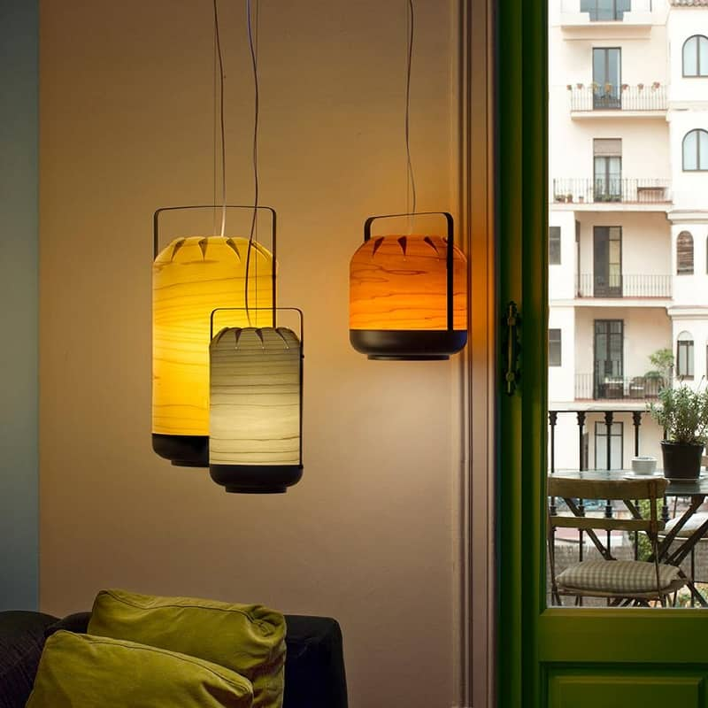 Chou - lamps inspired by the Chinese lanterns1