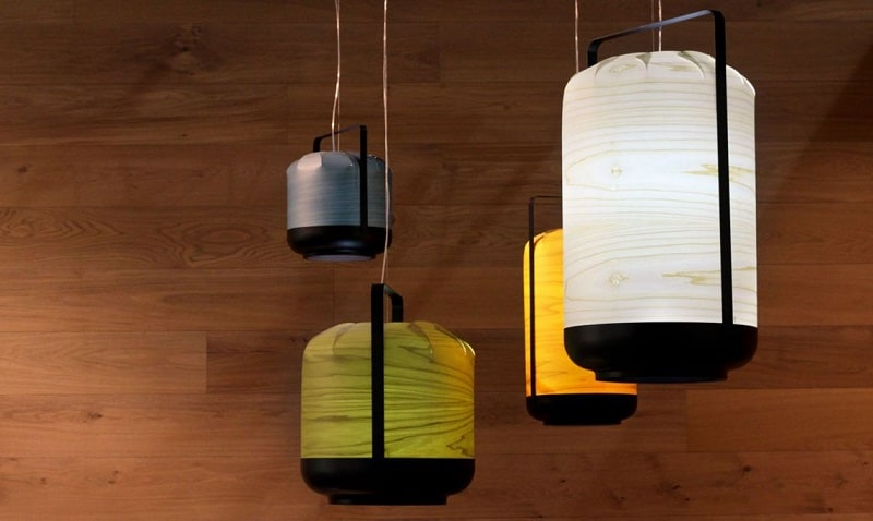 Chou - lamps inspired by the Chinese lanterns6
