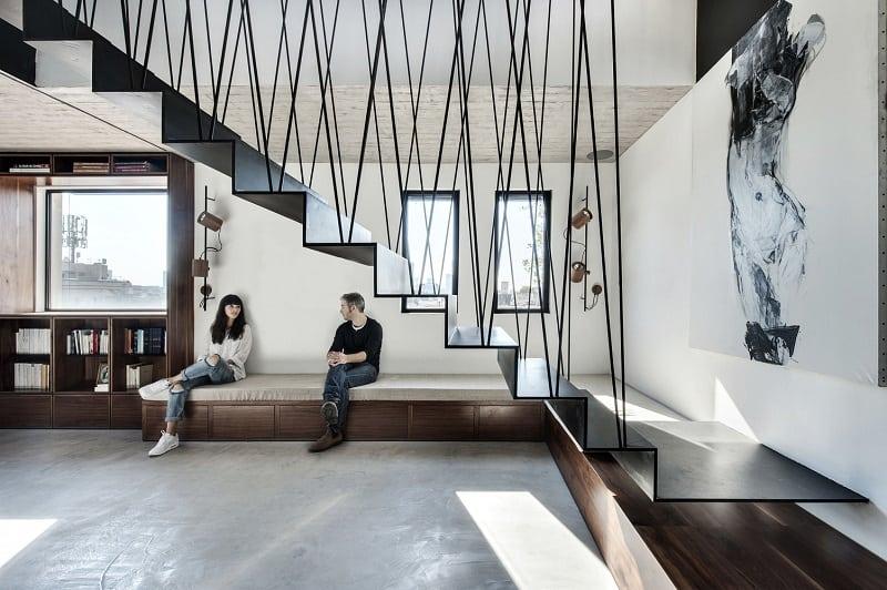 Elegant duplex with practical modular furniture3