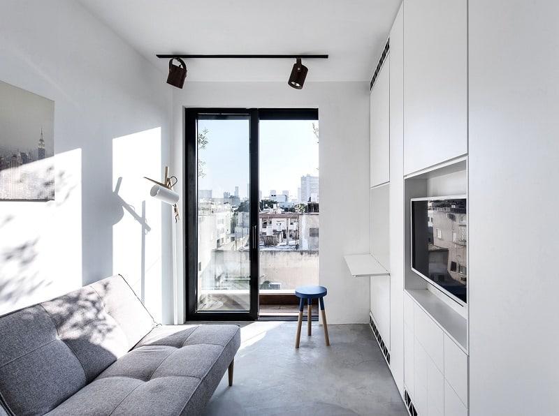Elegant duplex with practical modular furniture5