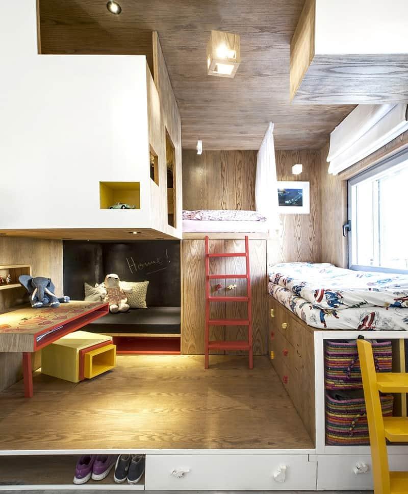 Elegant duplex with practical modular furniture7