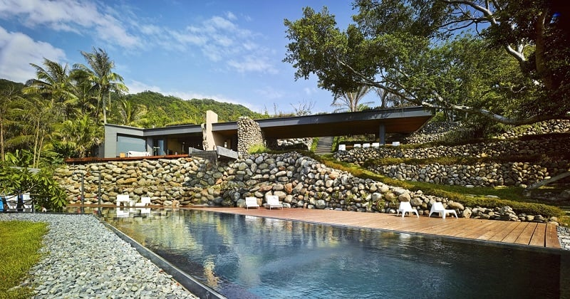 A'tolan, modern home in harmony with the natural landscape of Taiwan2