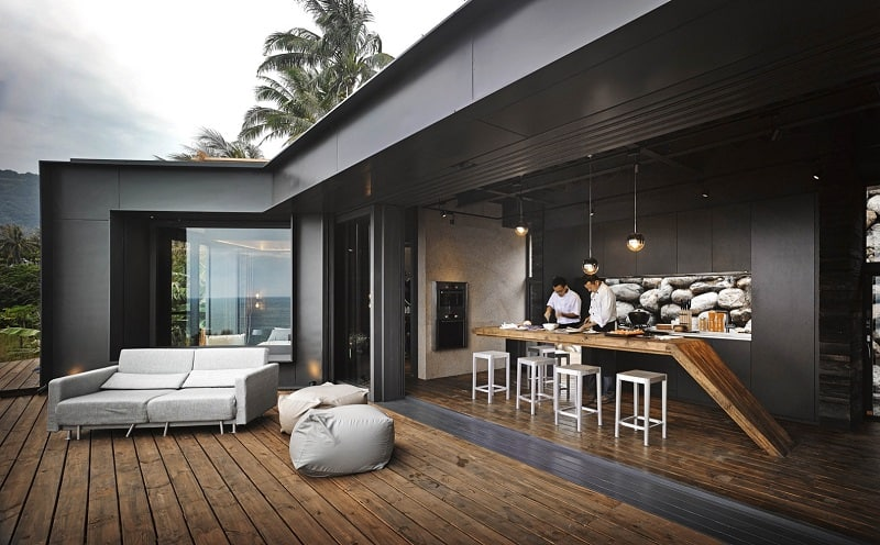 A'tolan, modern home in harmony with the natural landscape of Taiwan8