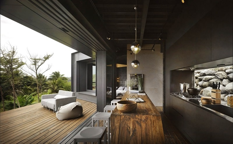 A'tolan, modern home in harmony with the natural landscape of Taiwan9