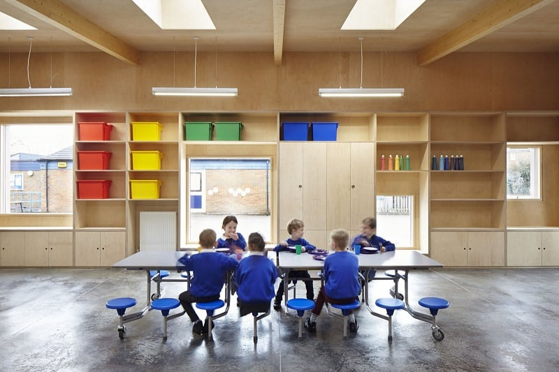 Colorful kindergarten in England4