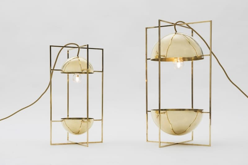 Delicate decorative light and bowl for modern interiors1