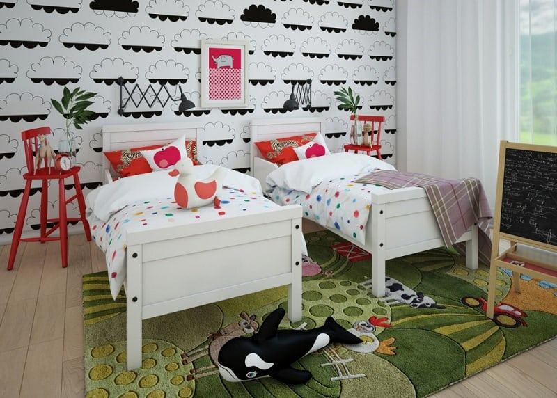 Playful children's rooms by Fajno Design4
