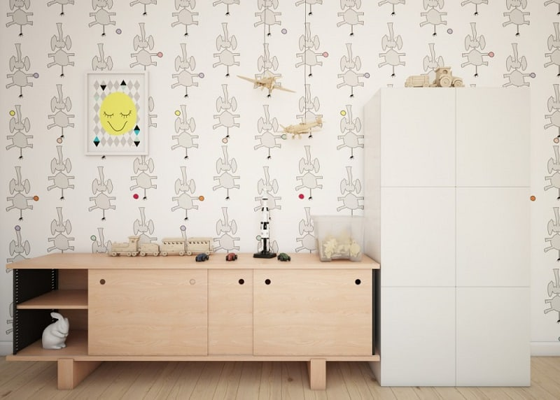 Playful children's rooms by Fajno Design6