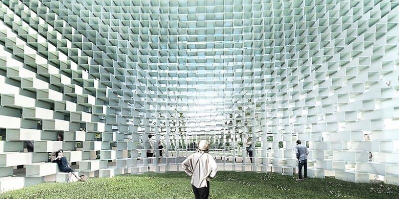 Bjarke Ingels unveiled the Serpentine Gallery Pavilion2