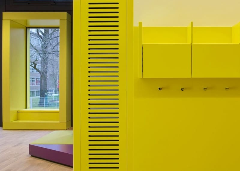 Children's daycare centre in Hamburg with a playful façade9