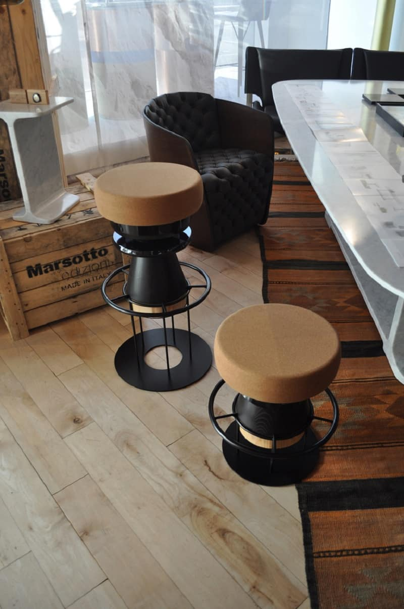 Fun stools with an interesting geometric shape4