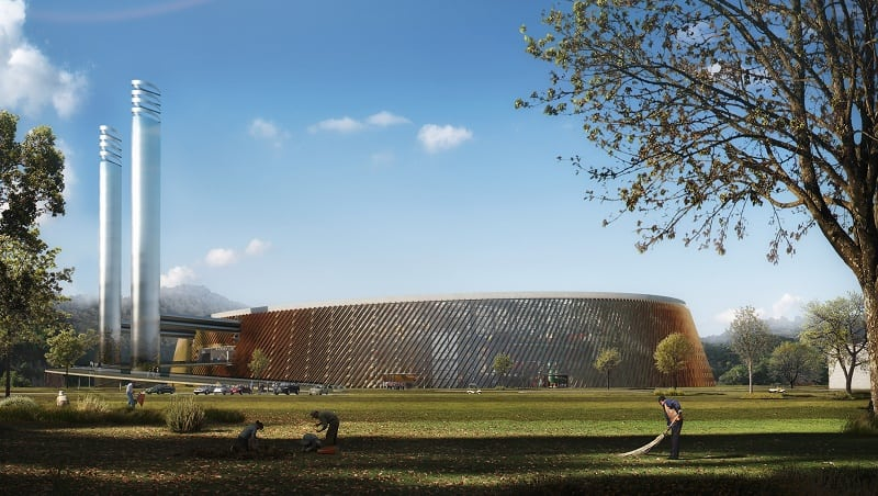 Schmidt Hammer Lassen Architects will design the biggest factory for processing waste into electricity1