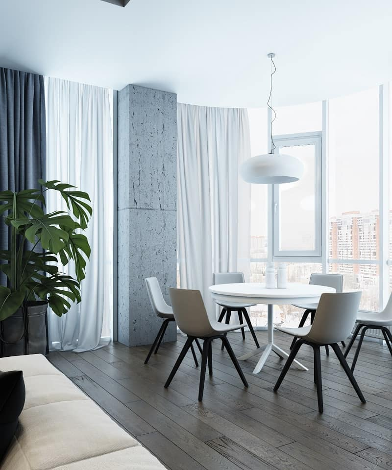 Sophisticated interior in industrial style2