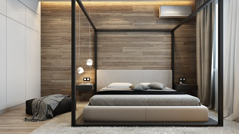 Sophisticated interior in industrial style5