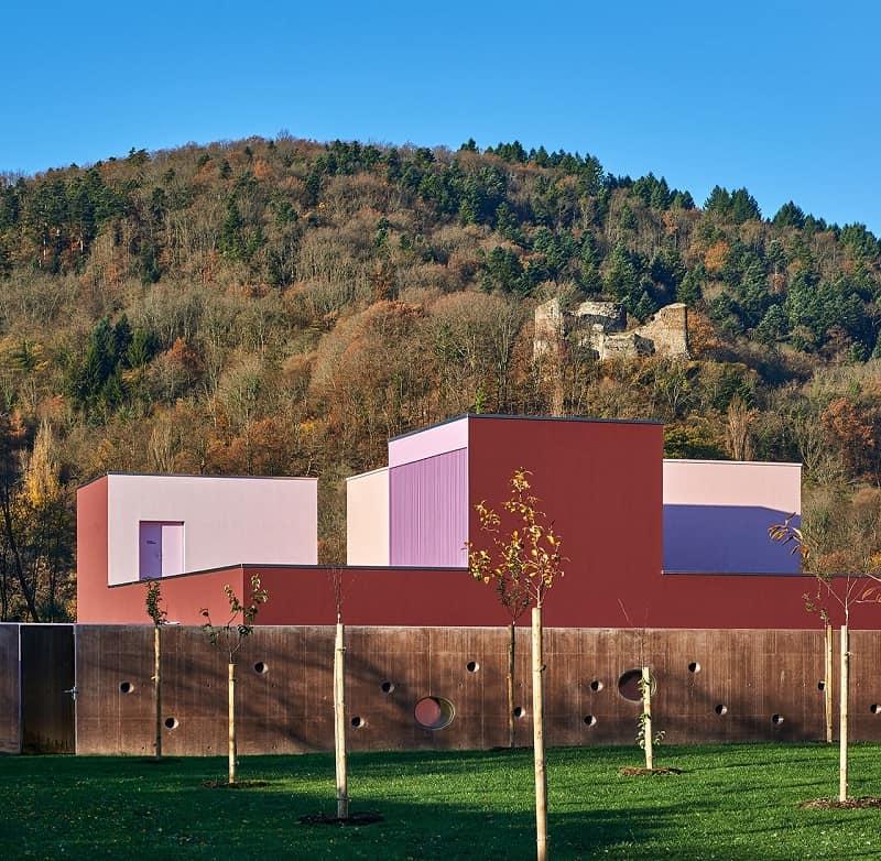 Colorful kindergarten in France`1