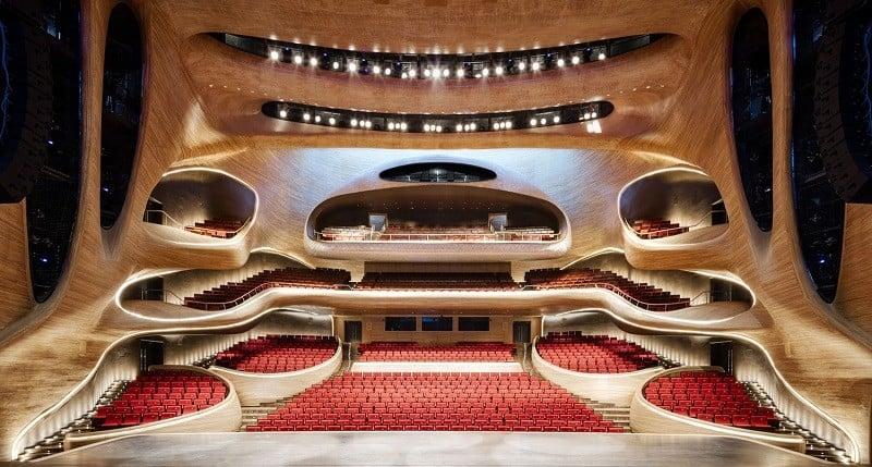 Harbin Opera House - futuristic architectural landmark in China