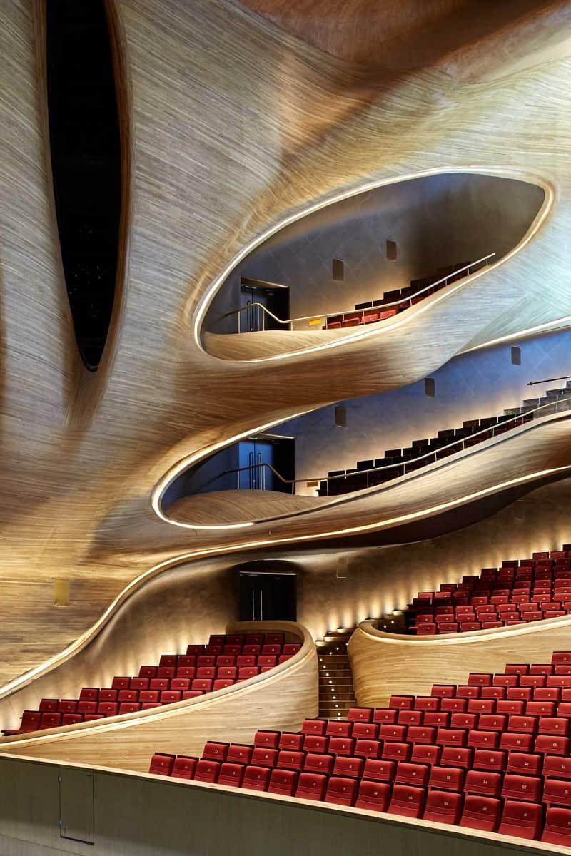 Harbin Opera House - futuristic architectural landmark in China3
