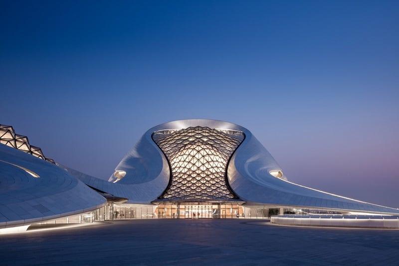 Harbin Opera House - futuristic architectural landmark in China5