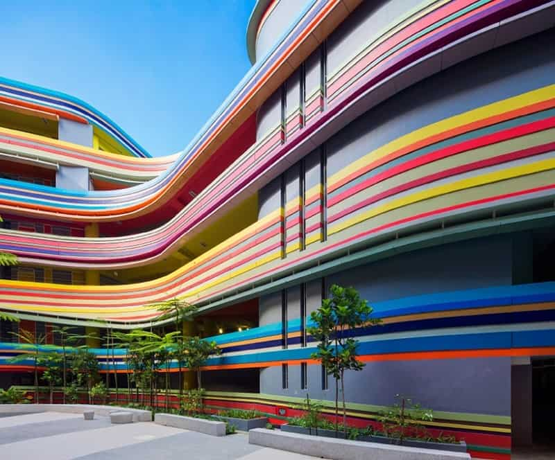 Nanyang - a playful school in Singapore