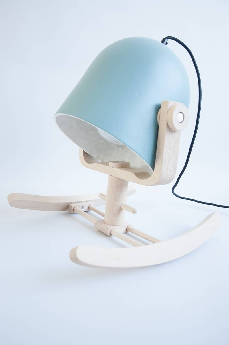 Wiggle Wiggle -  fun rocking lamp1