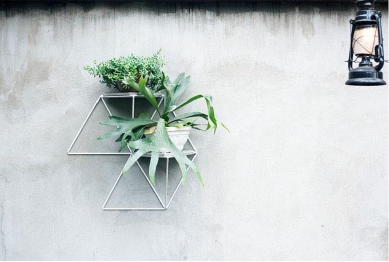 Creative geometric garden modules1