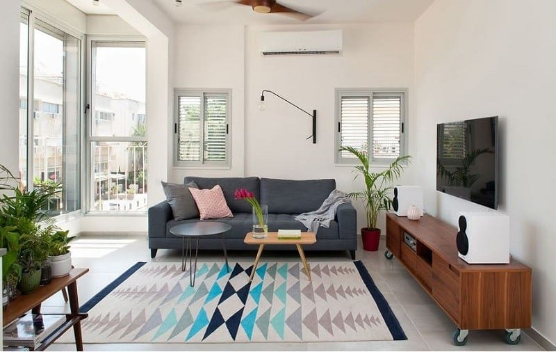 Tel Aviv apartment in Scandinavian style