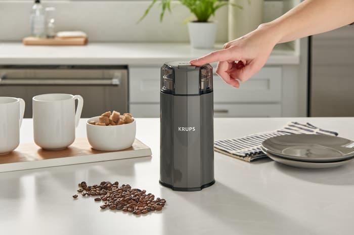 krups quiet coffee grinder