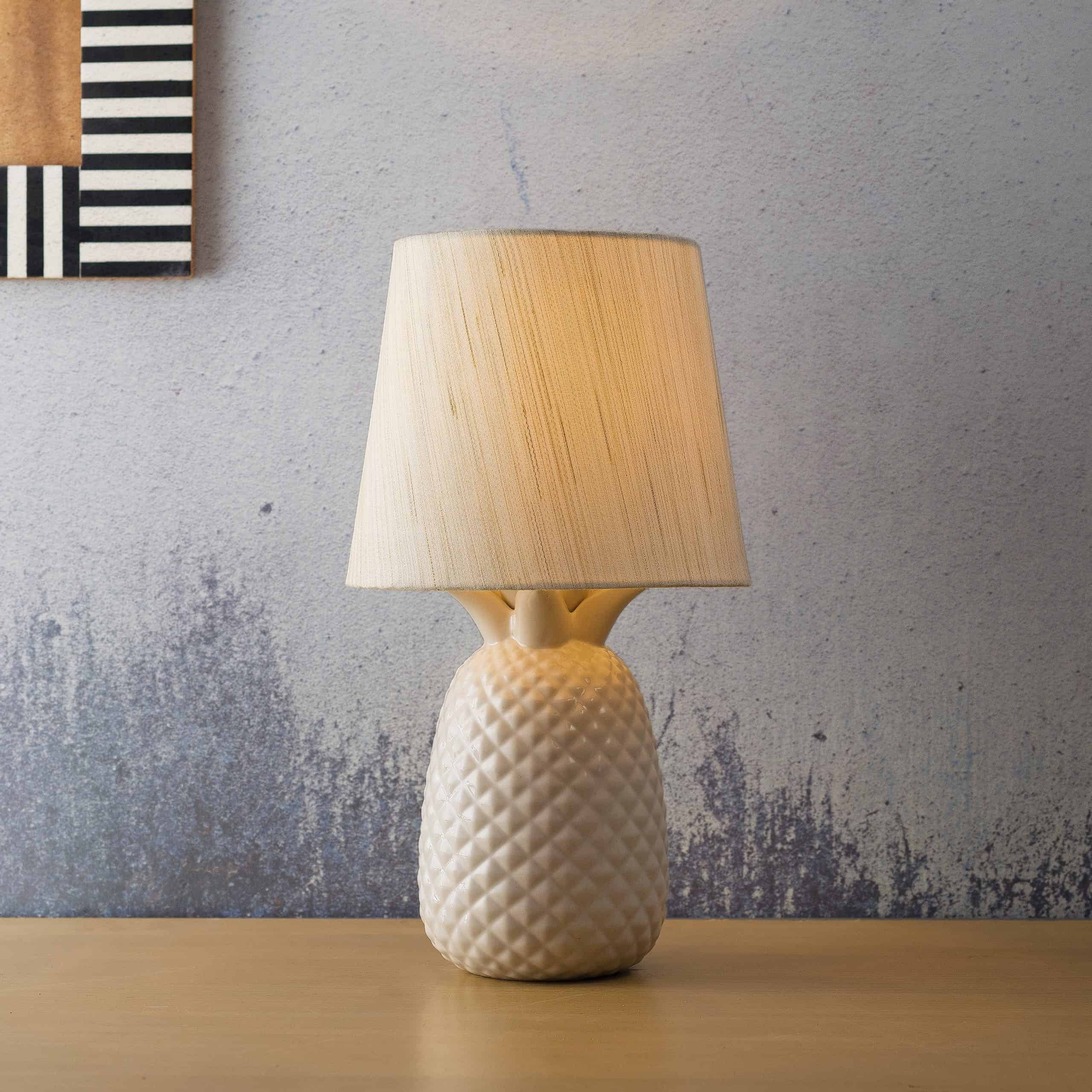 LED Table Lamp Modern Creative Design Bedside Lighting Bedroom Circle Warm white